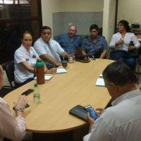 Policía y Foro de Seguridad se reunieron con Coordinador del Mercado Concentrador