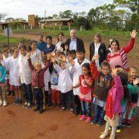 Passalacqua inauguró obras viales en Puerto Esperanza y Andresito