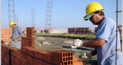En febrero creció el empleo en la construcción