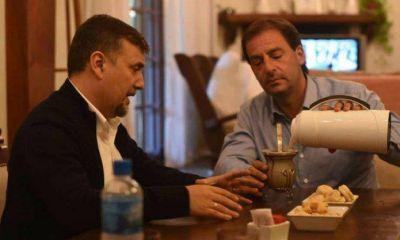 Fabián Pitronaci se mostró con el intendente de Escobar Ariel Sujarchuk