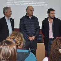 """Ibarra y Grindetti inauguraron un """"Punto Digital"""" en Lanús"""