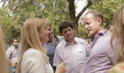 Insaurralde y Magario ya se instalan como candidatos legislativos