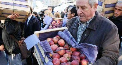 Emergencia por un año para peras y manzanas