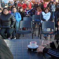 Marcha de estatales en Caleta: