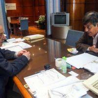 Arroyo se reunió con Merlini y acordó trabajos en conjunto en el puerto