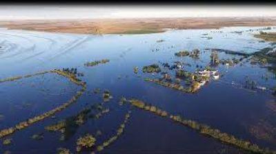 Es ley nacional la emergencia hídrica en localidades de once provincias afectadas por inundaciones