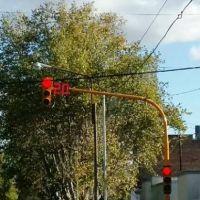 Se colocaron nuevos semáforos con contadores