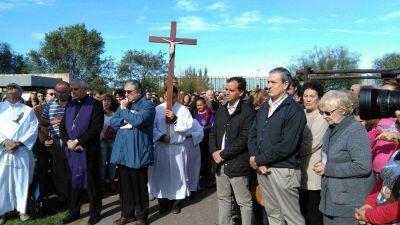 La diócesis de Rio Cuarto inauguró la obra de los tres Obispos