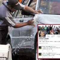 Hasta 15 mil pesos de multa en Salta por lavar el auto en la vereda