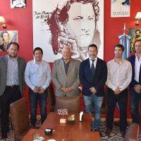 Reunión de intendentes con el Tribunal de Cuentas en Merlo
