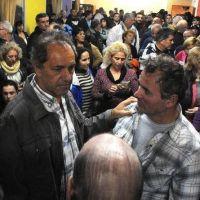 Scioli visitó San Fernando y dijo que el Gobierno hace