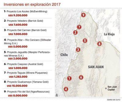 Mineras prevén invertir este año más de 800 millones en exploración