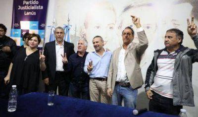 Scioli, Ferraresi y Díaz Pérez encabezaron el cierre del Plenario de la Militancia