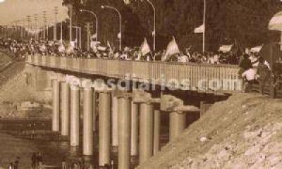 Garantizan que el puente Rocha está apto para soportar el peso de cientos de camiones por día