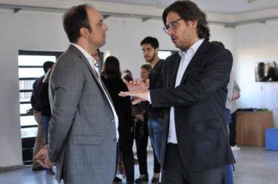 Corral recibió al Ministro de Justicia, Germán Garavano