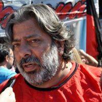 Agmer Paraná marchó a Casa de Gobierno