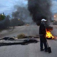 Manifestantes cortan la ruta 7 en Parque Industrial
