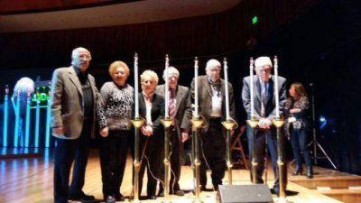 Emocionante acto por el Día de Recordación del Holocausto organizado por la DAIA