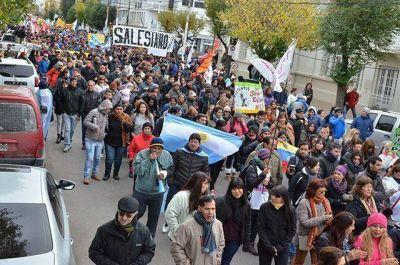 Tercera marcha por Educación, Salud, Salario y Justicia