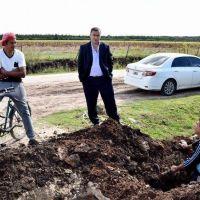 Se aproxima la finalización de la obra de cloacas en el barrio Laguna Paiva