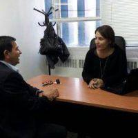 El intendente de Pellegrini preocupado por la situación hídrica del distrito se reunió con autoridades provinciales y Monzó
