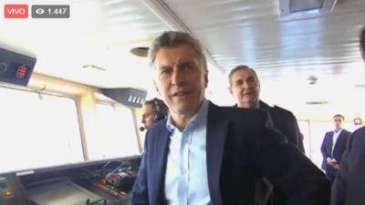 El Presidente visitó el Irízar y lo sorprendieron con un grito:
