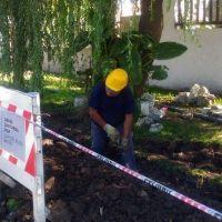 Continúan los trabajos de extensión del servicio de agua en barrios del norte