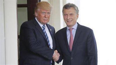 Satisfacción en EE.UU. por el trato preferencial y el respaldo a Macri