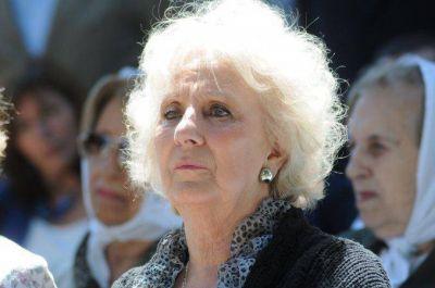La dura frase de Estela de Carlotto a Macri: