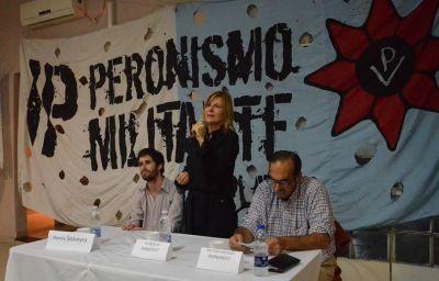 """""""Tenemos que terminar con esta profunda injusticia urbana, injusticia de clase y de género"""", dijo Florencia Saintout"""