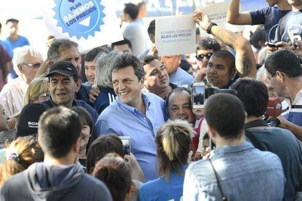 """Sergio Massa: """"Bajemos los precios para defender el salario de los argentinos"""""""