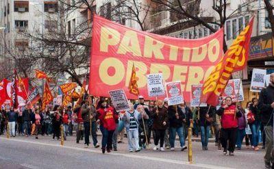 Día del Trabajador con manifestación contra el intendente Arroyo