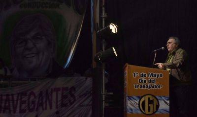 """Schmid: """"La CGT mantiene vigentes los reclamos que dieron lugar al paro"""" del 6A"""