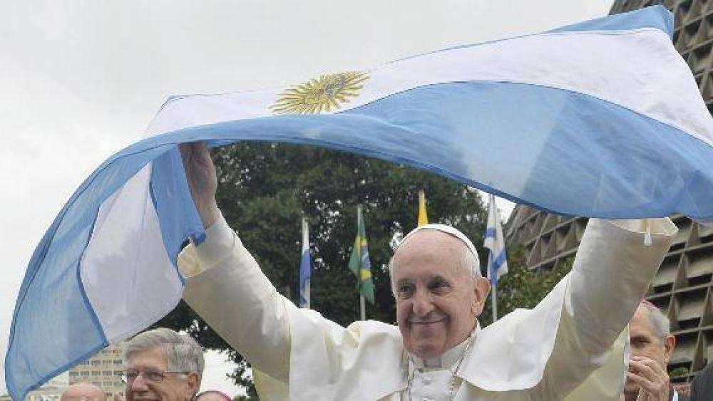 """""""En Argentina, Francisco será cada vez más grande"""""""