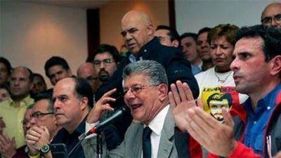 Venezuela: la oposición no esta dispuesta