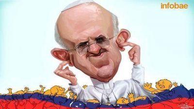 La oposición venezolana le contestó al Papa Francisco