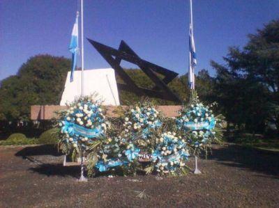 La comunidad judía argentina recordó a los caídos en defensa de Israel y a las víctimas del terrorismo