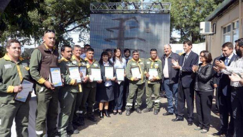 Corpacci inauguró refacciones en el edificio de la EC SAPEM