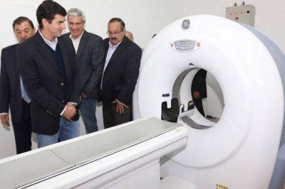 Inauguración de nuevos servicios de tomografía y oncología