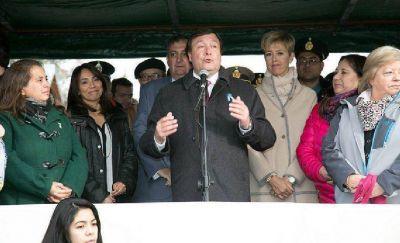 Weretilneck participó de los actos por el 115° aniversario de Bariloche