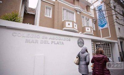Cinematográfico robo en el Colegio de Abogados de Mar del Plata