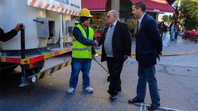 El Municipio finalizó las obras en la zona del Hospital Privado de la Comunidad