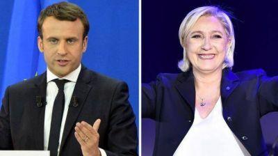 Macron y Le Pen justificaron las agresiones en su debate televisivo
