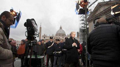 """El Papa: un poco de """"violencia buena"""" para reformar los medios vaticanos"""