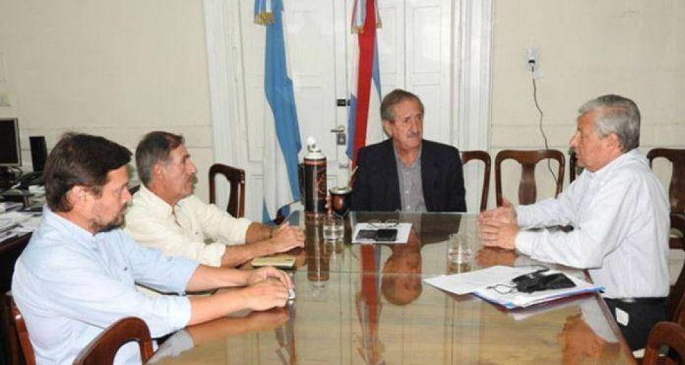 Lauritto realizó distintas gestiones en Paraná