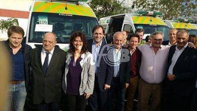 Blanco celebró la llegada del SAME a Mar del Plata y otros distritos de la región