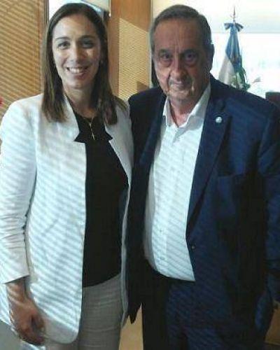 """Lunghi junto a Vidal: """"Se va a trabajar con la voluntad de fortalecer Cambiemos en Tandil"""""""