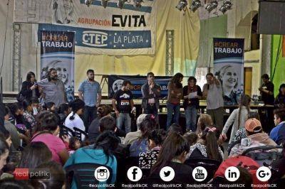 La Plata: Movimiento Evita realizó un nuevo plenario militante