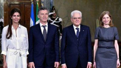 Mauricio Macri recibirá al presidente de Italia para reforzar el vínculo bilateral