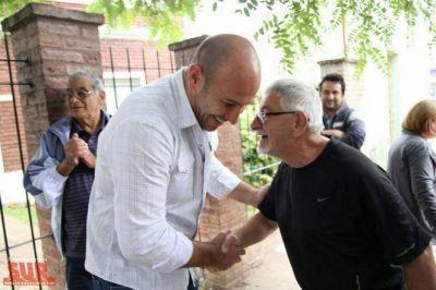 Molina recorrió Bernal junto a su gabinete y legisladores provinciales
